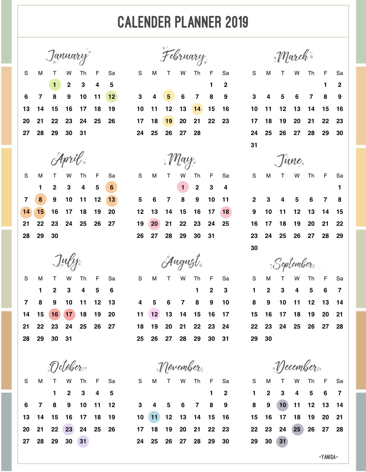 Calendario Juliano 2020 Pdf | Calendar Printable Free
