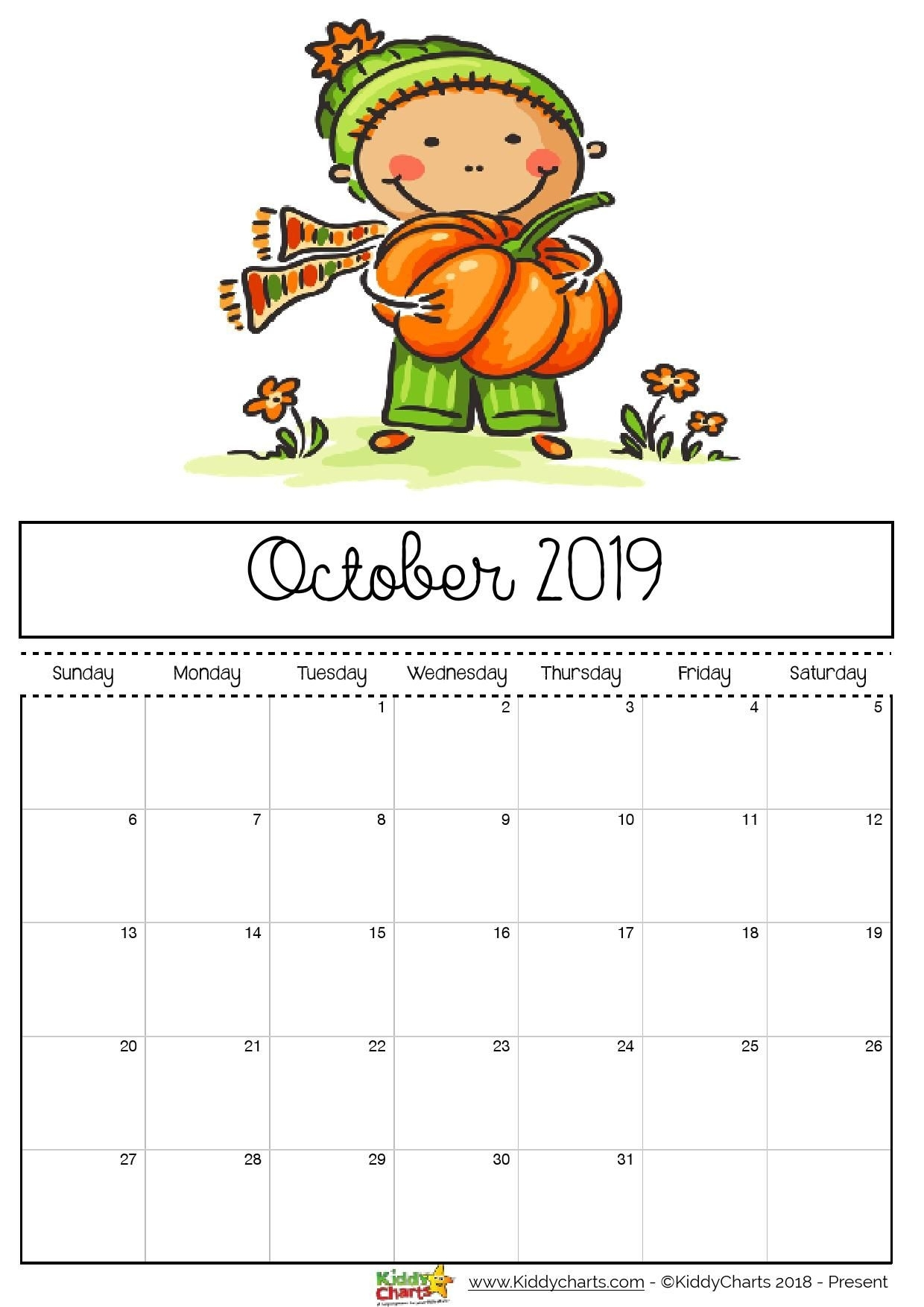 Check Out Our Fantastic Free 2019 Calendar For Your Child'S with Free Kindergarten Calendar Template 2019