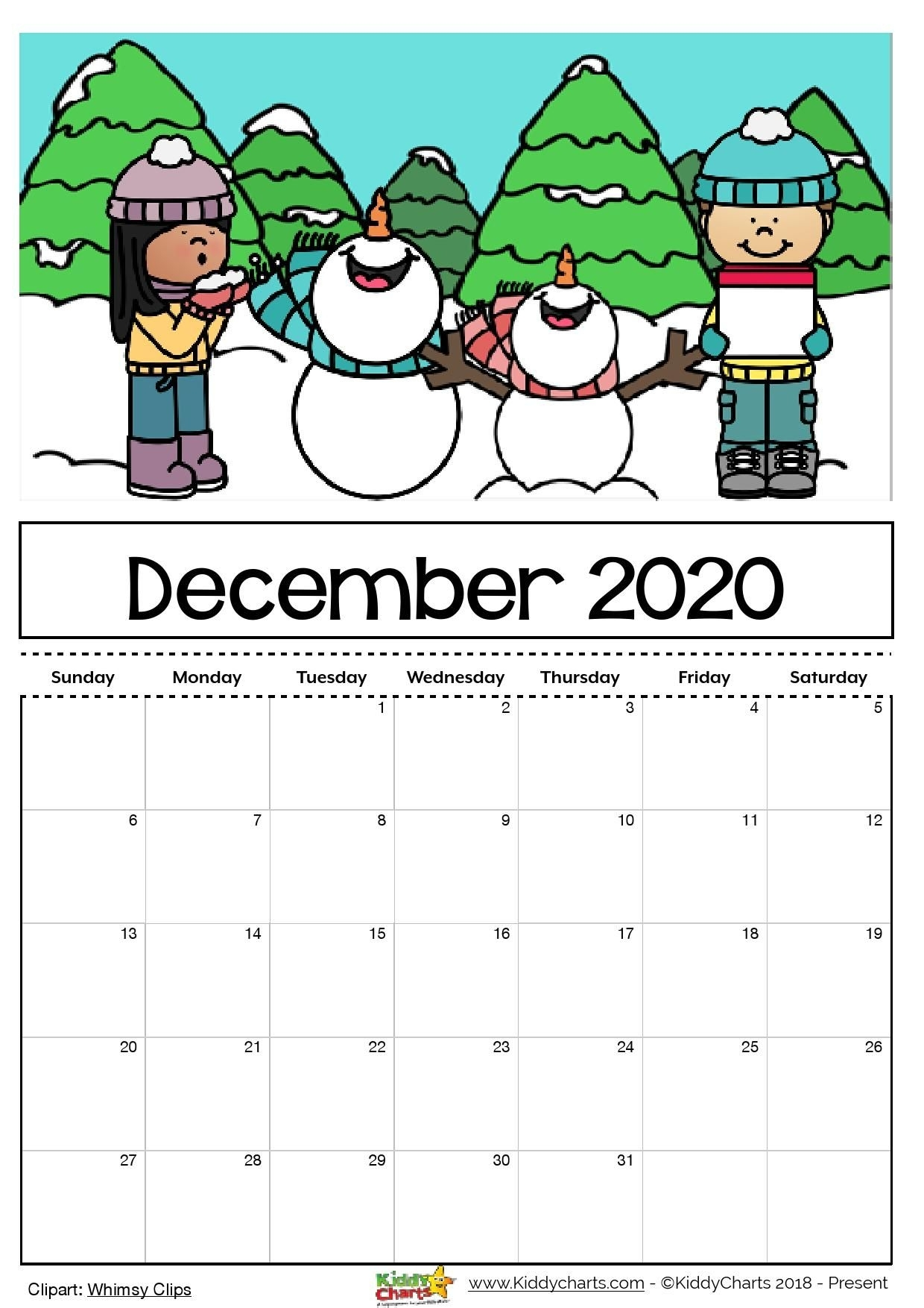 Check Out Our Free Editable 2020 Calendar Available For for Free Printable Children Calendars 2020 That Children Can Draw On
