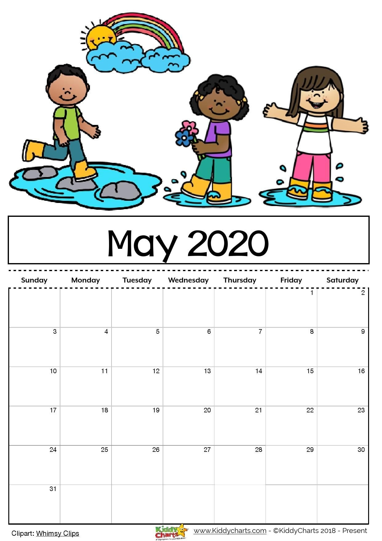 Check Out Our Free Editable 2020 Calendar Available For inside Free Printable Children Calendars 2020 That Children Can Draw On