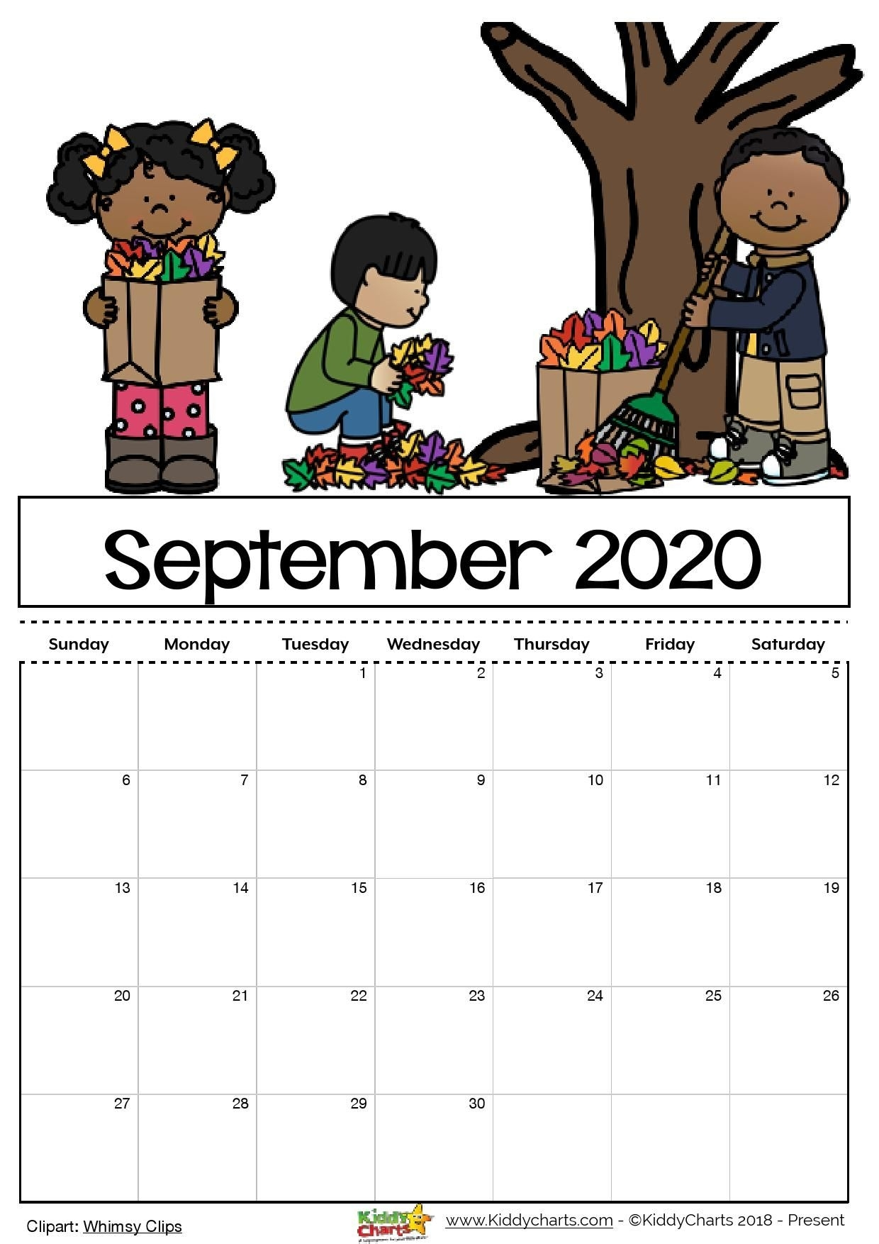 Check Out Our Free Editable 2020 Calendar Available For intended for Free Printable Children Calendars 2020 That Children Can Draw On