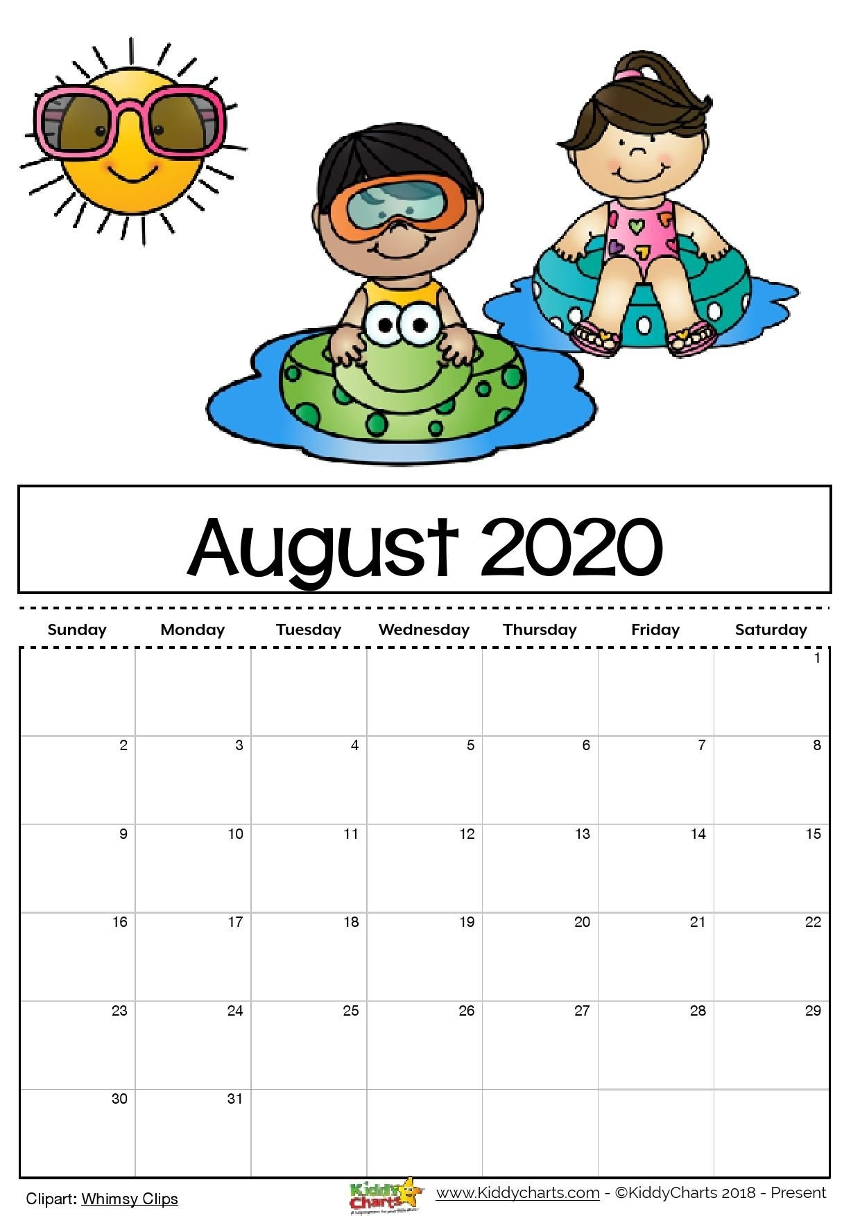 Check Out Our Free Editable 2020 Calendar Available For with Free Printable Children Calendars 2020 That Children Can Draw On