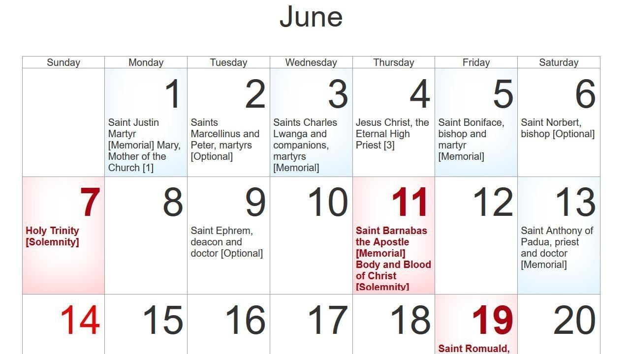 Church Calendar 2020 For Android - Apk Download throughout Free Catholic Calender For 2020