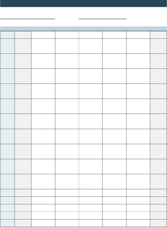 Class Schedule - Nbsp;· Title: Class Schedule Author