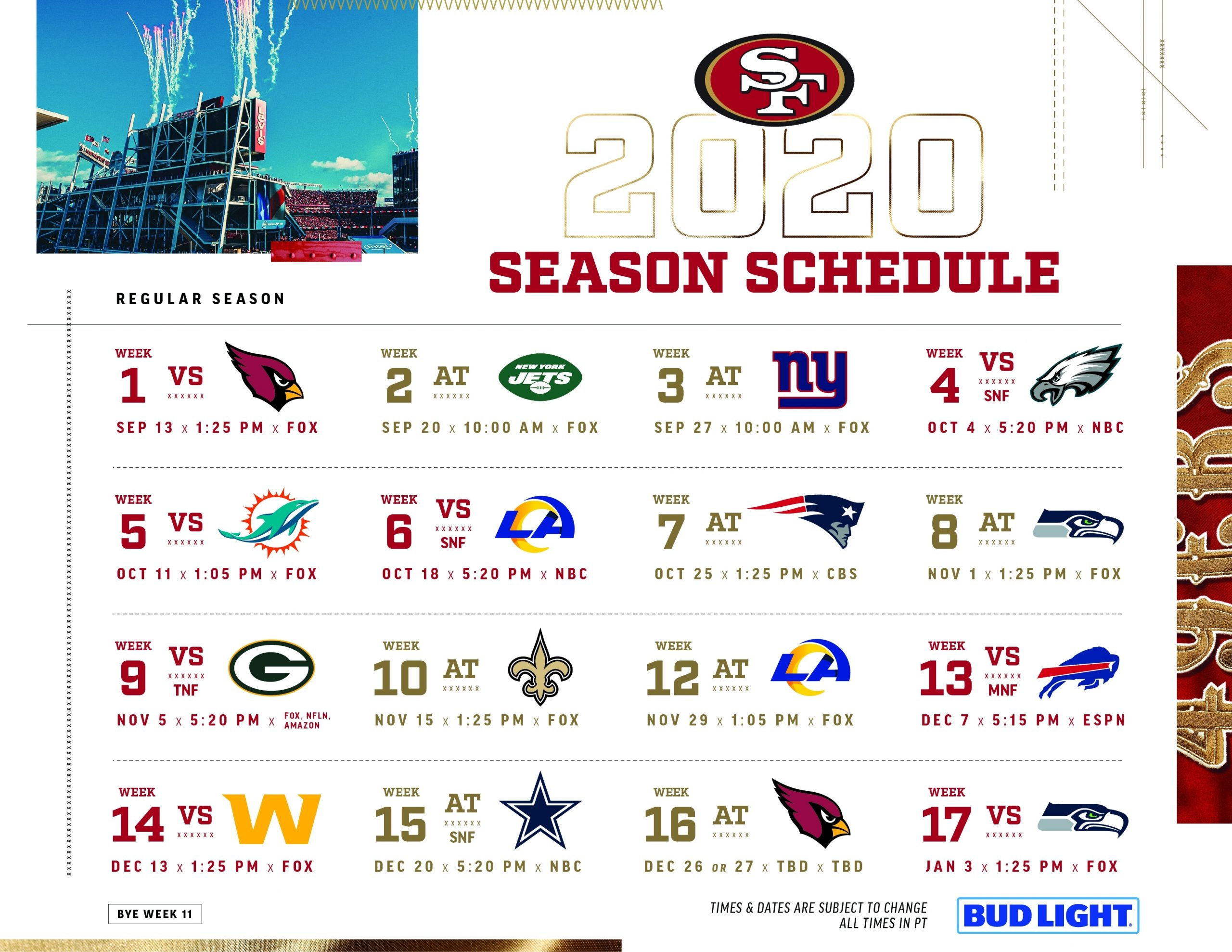 Click The Link Below For A Printable 2020 Schedule with Printable 2019 2020 Nfl Schedule