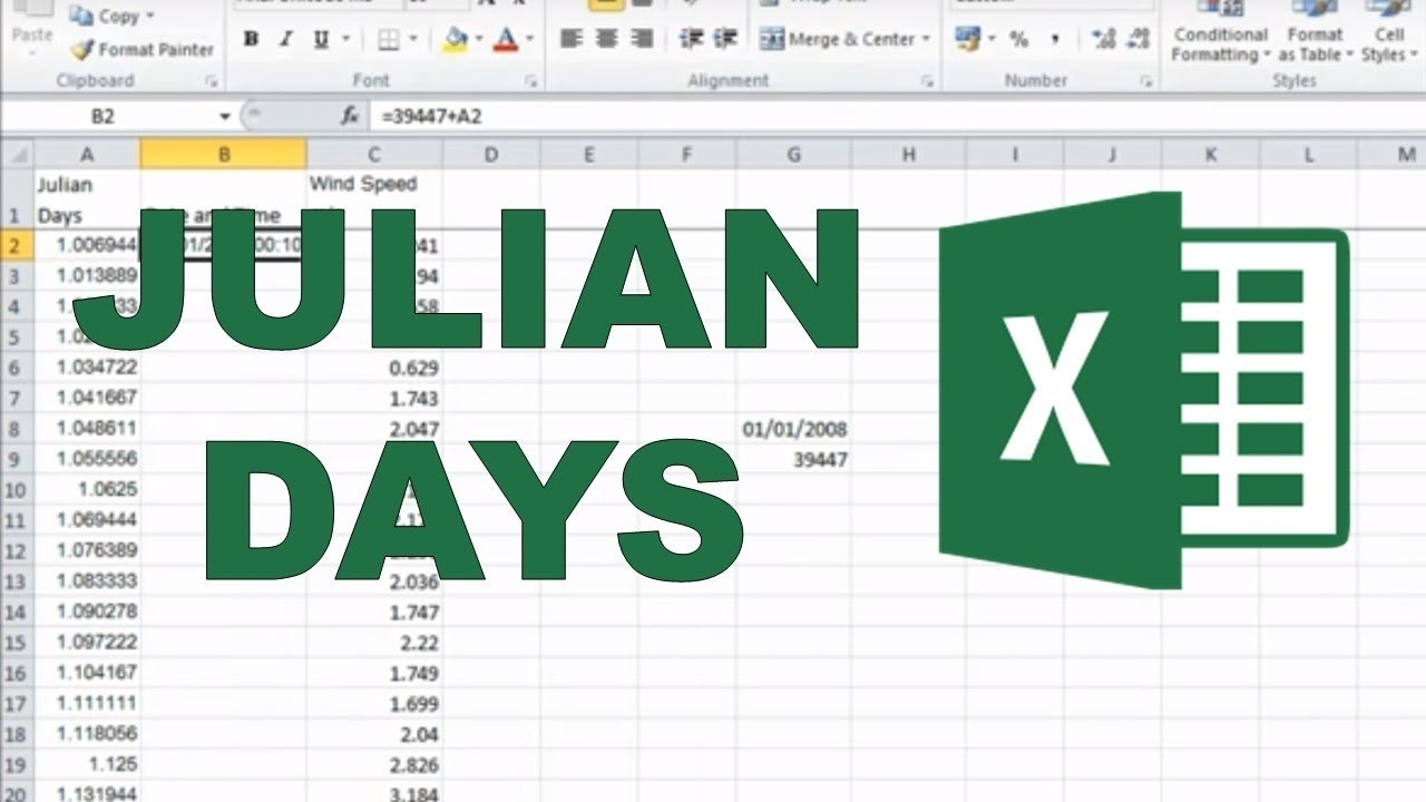 Converting Julian Days Into Date And Time In Excel within What Is Julian Dates On A Calendar