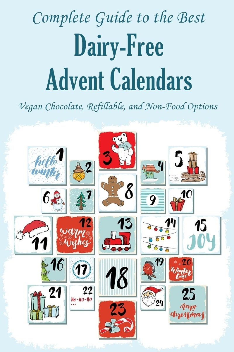 Dairy-Free Advent Calendars: The Complete Round-Up