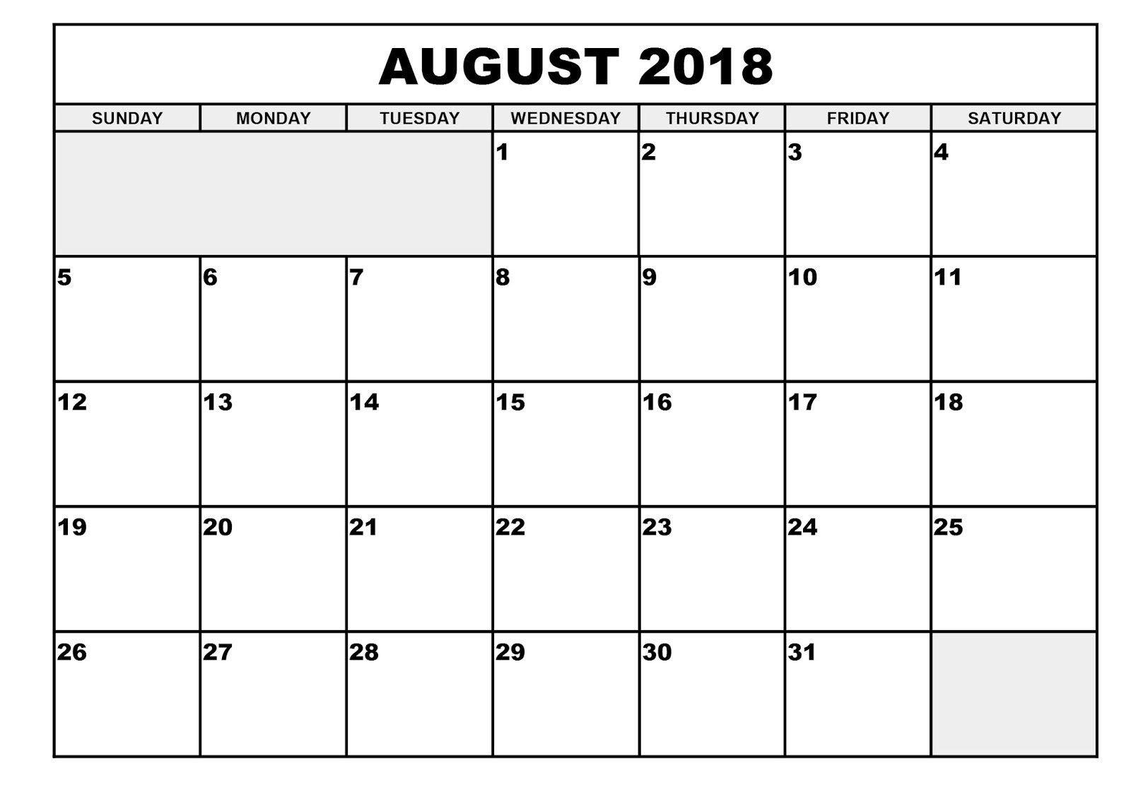 Depo Provera Printable Calendar 2018 2018 Calendar