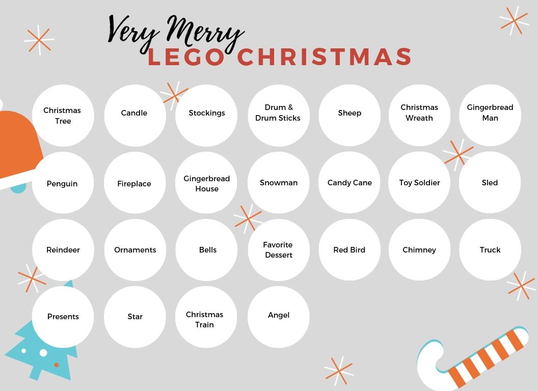 Diy Lego Advent Calendar Printable! :: Southern Savers