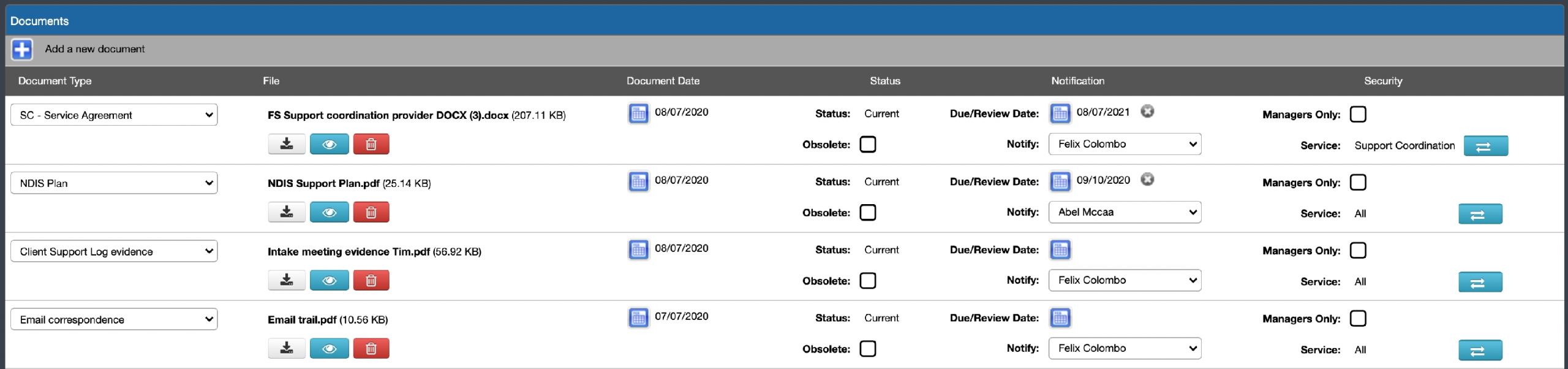 Download And Preview Documents - Supportability Knowledge Base