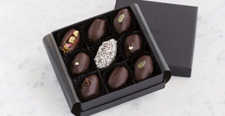Dubai Chocolatiers Launch Vegan Chocolate-Covered Dates For