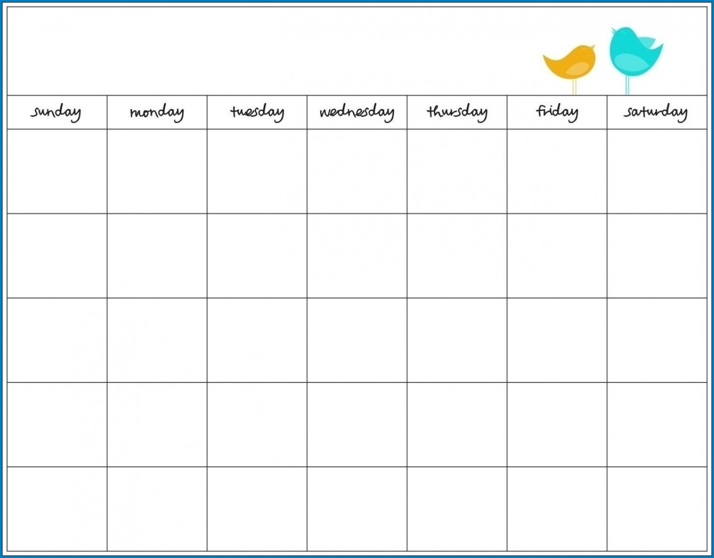 √ Free Printable 7 Day Schedule Template | Templateral