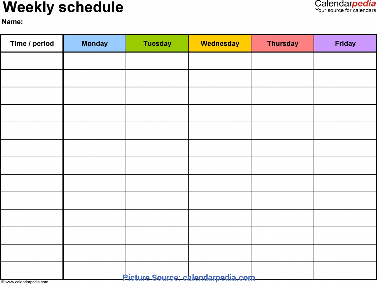Excellent Monthly Lesson Plan Template Pdf Free Weekly