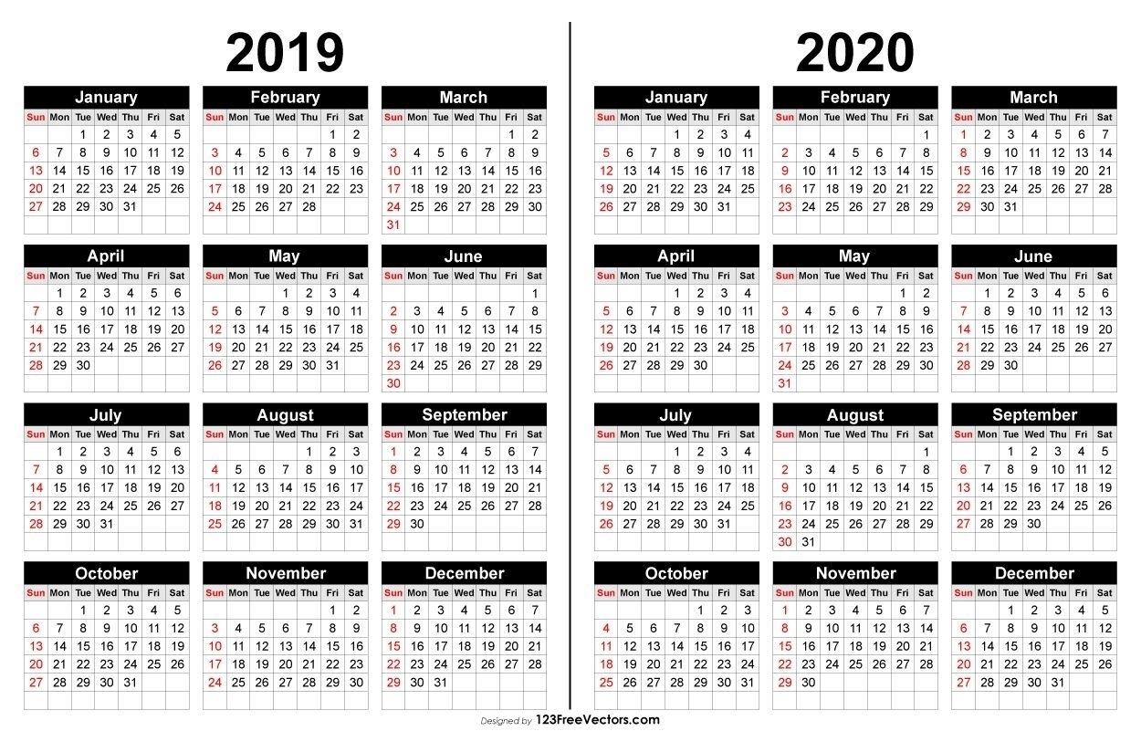 Fillable 2019-2020 Calendar - Calendar Inspiration Design for Stephen F Austin Calendar 2019-2020