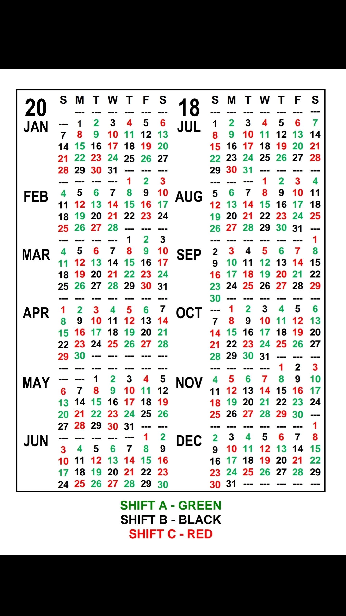 Fire Dept Shift Calendar 24/48 - Calendar Inspiration Design in Firefighter 24 48 Shift 2020 Calendar