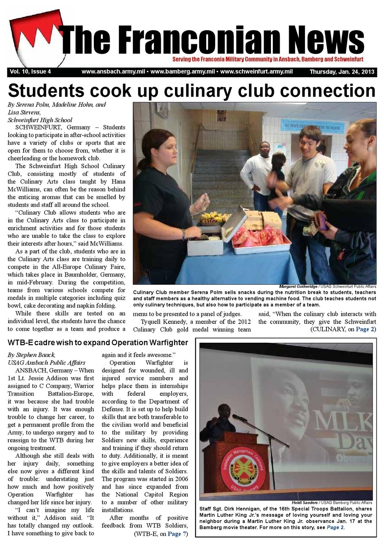 Franconian News Jan. 24, 2013Public Affairs - Issuu