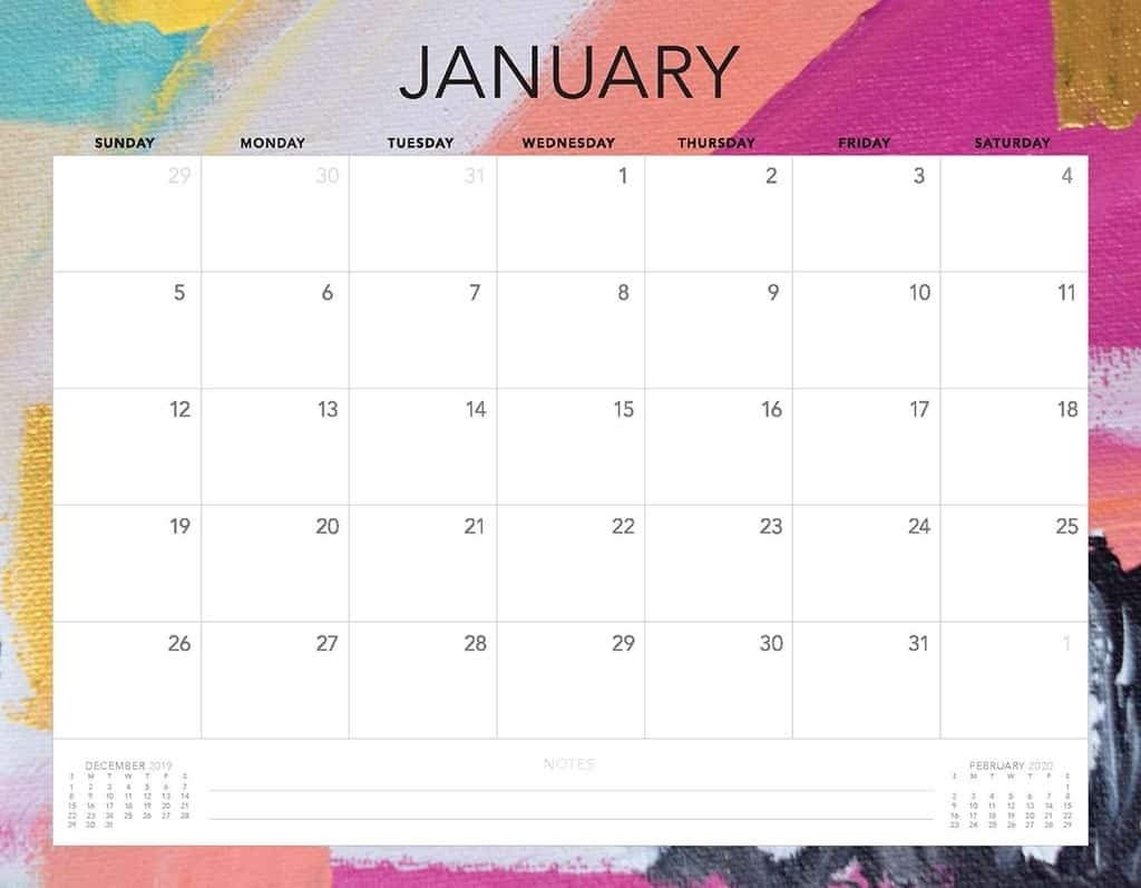 Free 2020 Printable Calendars - 51 Designs To Choose From! intended for Print Free Calendars Without Downloading 2020