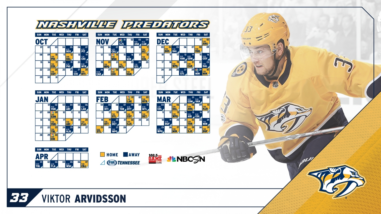 Free Download Downloadable Preds Wallpapers Nashville intended for Nashville Predators Printable Calendar Schedule