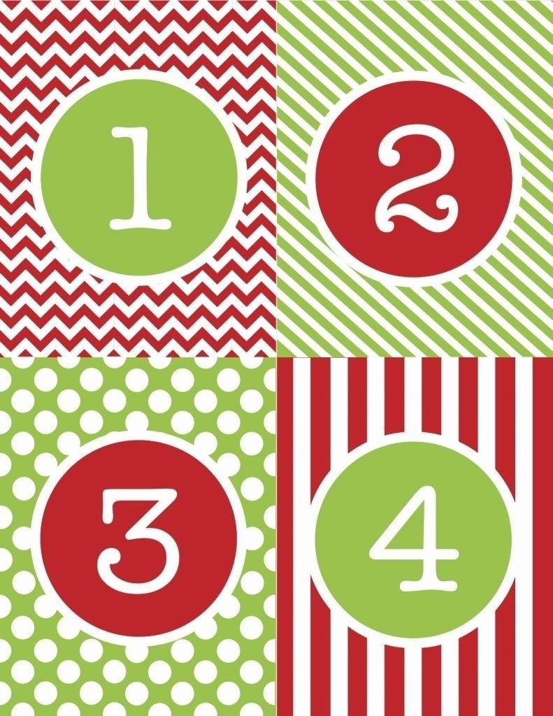 Free Printable Calendar Numbers 1-31 Pdf In 2020 | Printable