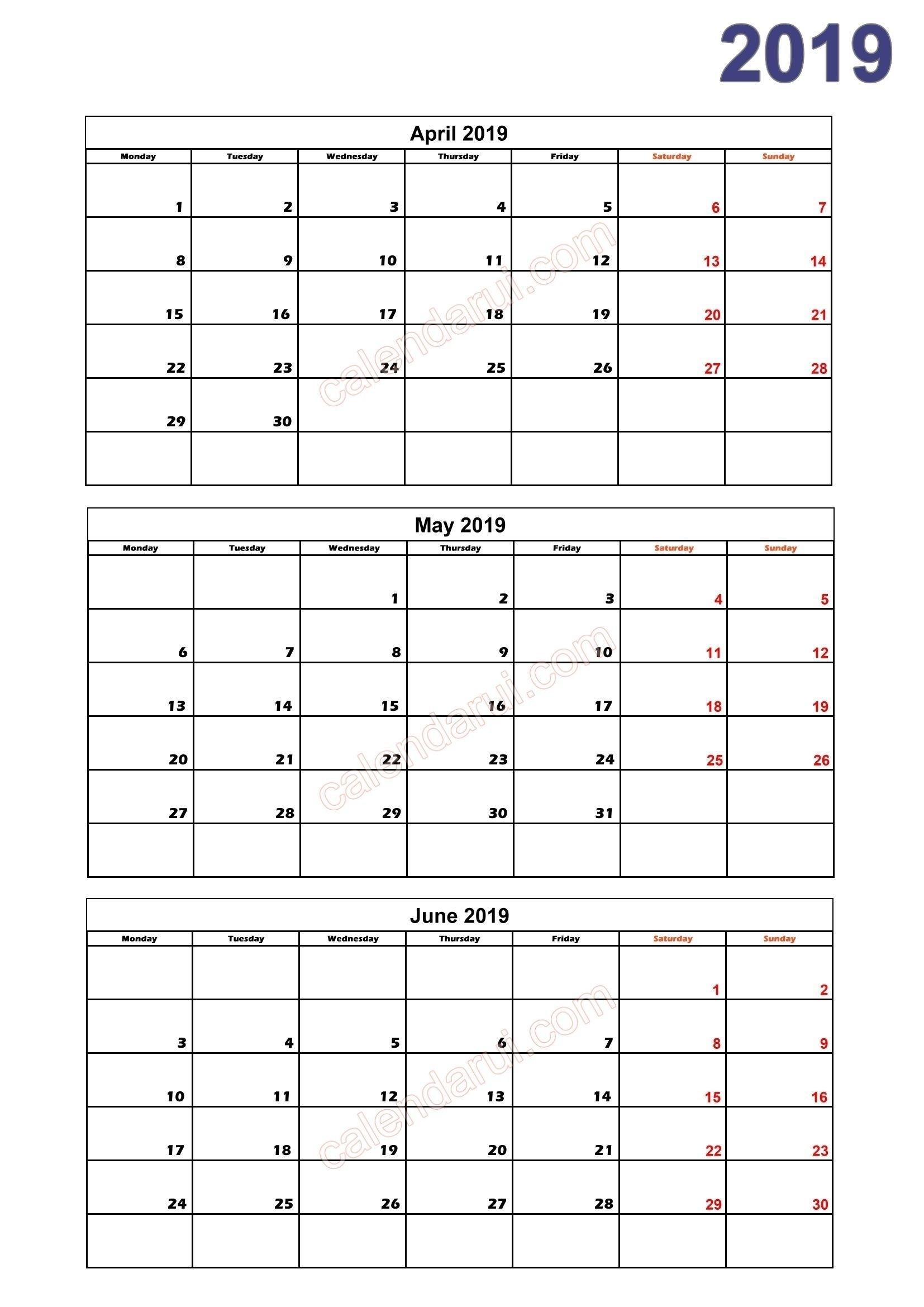 Free Printable Calendar Quarterly In 2020 | Calendar 2019 with regard to Calendar For Quarterly 2020 Printable