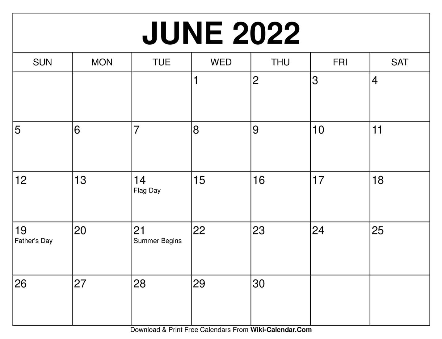 Free Printable June 2020 Calendars with regard to Free Priintable Calendar Day By Day
