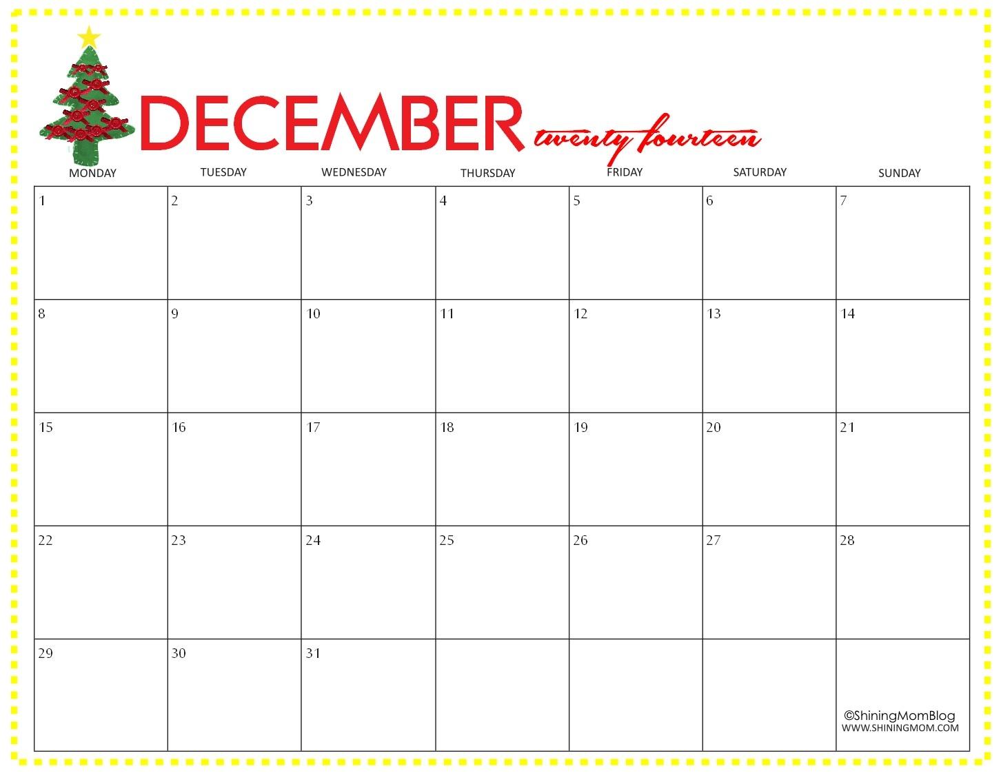 Fresh Printable Calendar December | Free Printable Calendar with regard to 2020 Calendar Free Printable Imom
