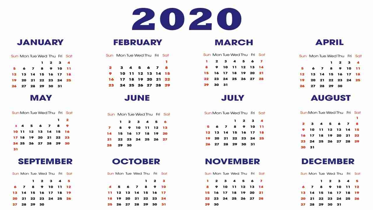 Full List Of Important National And International Days In 2020 pertaining to Special Days Of The Year 2020 Calendar