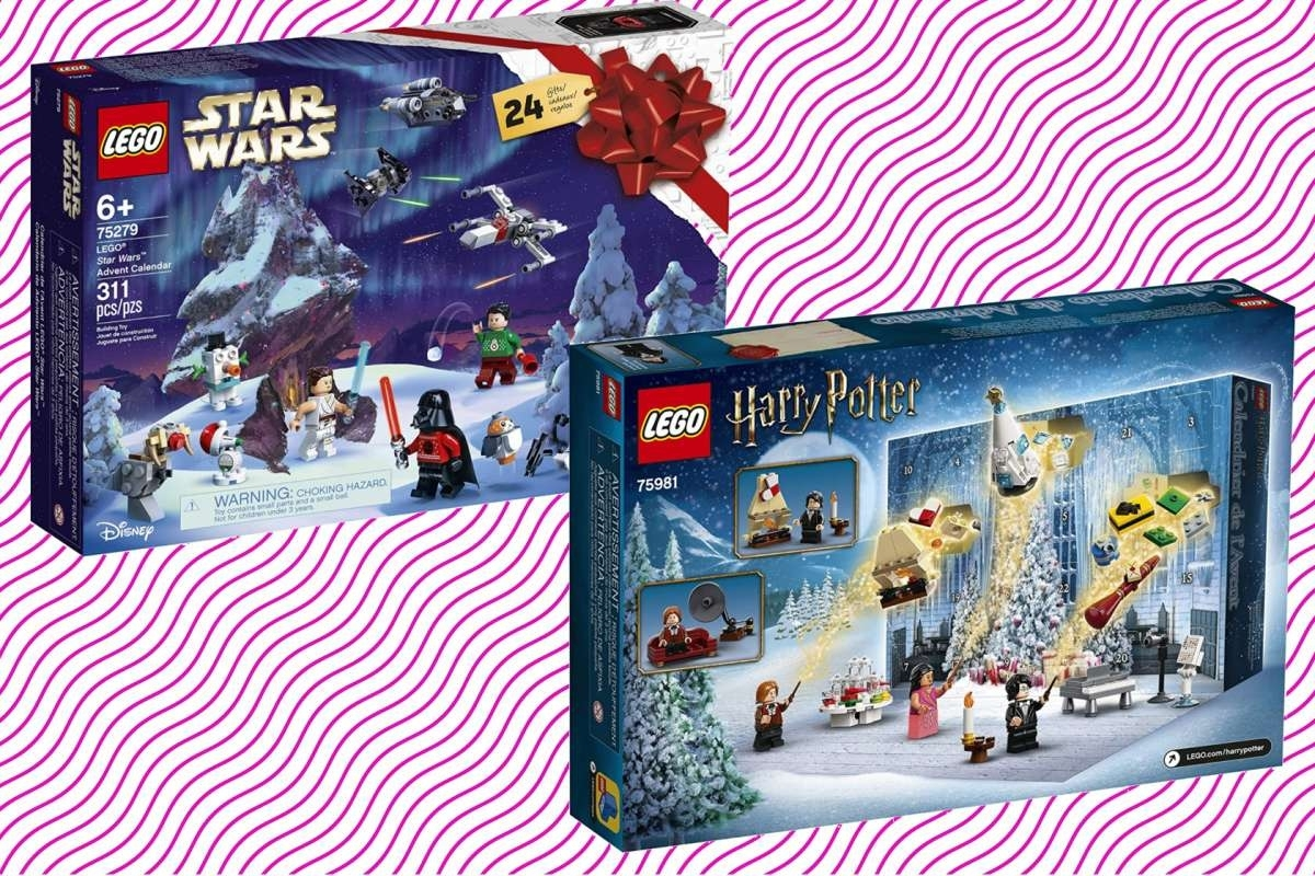 Get The Lego Harry Potter And Star Wars Advent Calendars For