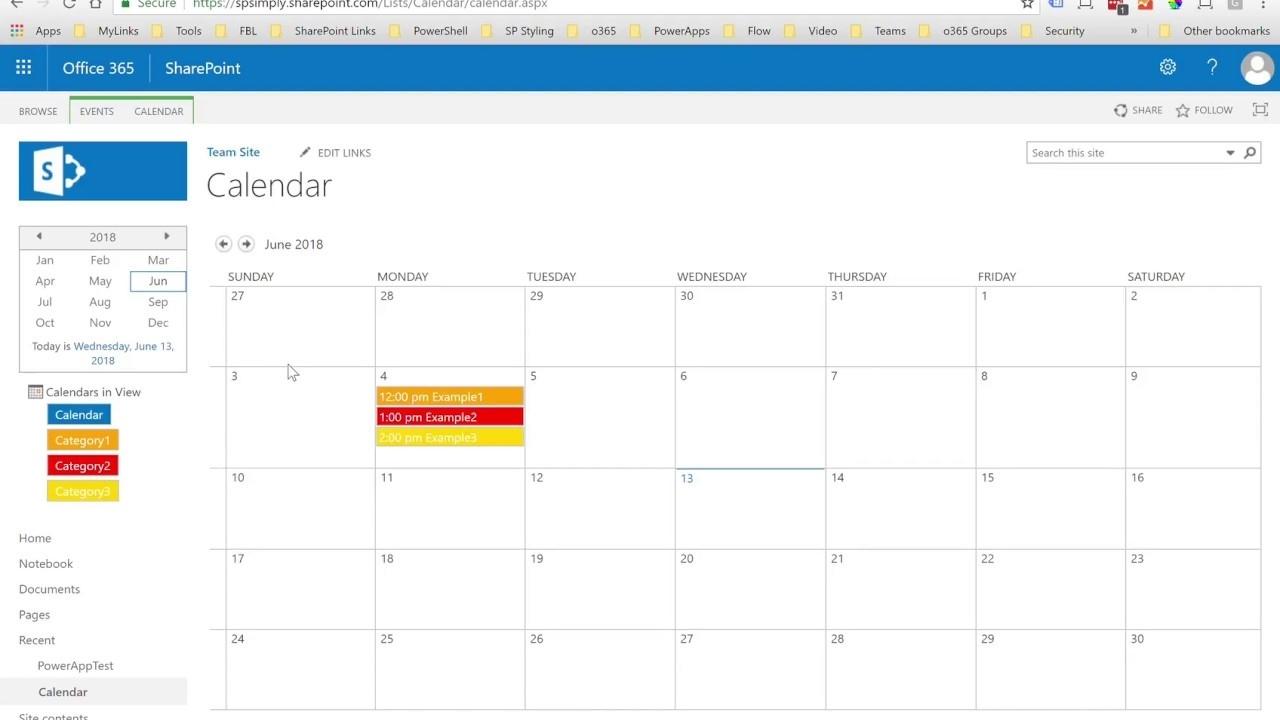 How To Customize Sharepoint Calendar Colors