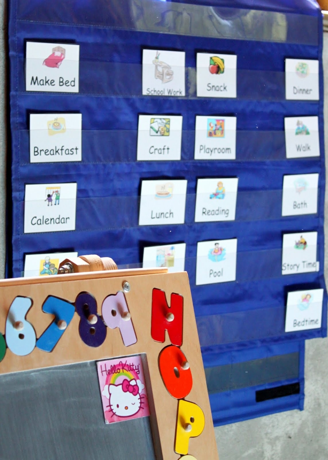 How To Schedule A Child'S Day With Printable (Free) Cards