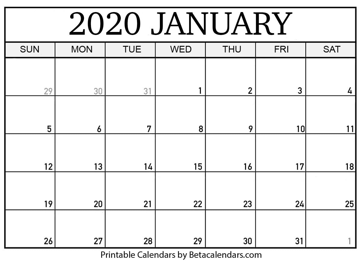 If You Download Your January 2020 Calendar Template, You with regard to 2020 Calendar To Fill In