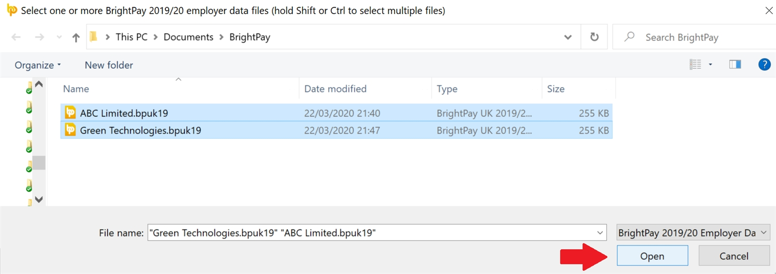 Importing From The Previous Tax Year - Brightpay Documentation intended for Hmrc Calendar 2019/2020 For Cis