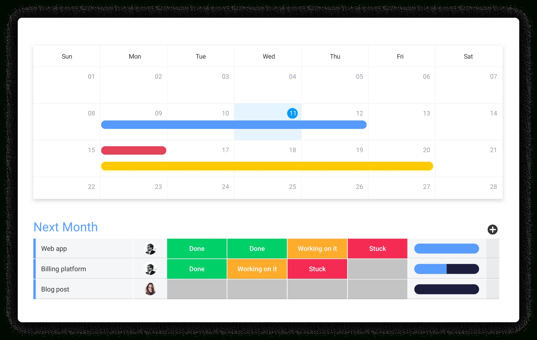 Intuitive Scheduling Software | Monday