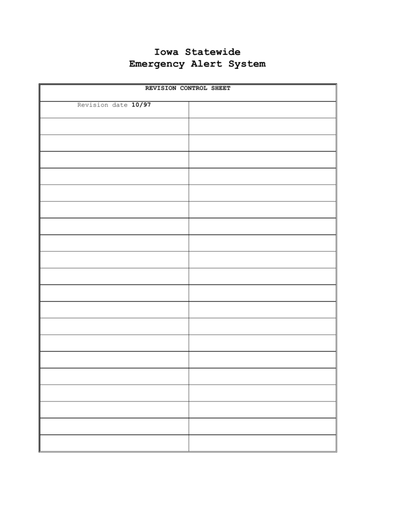 Iowa Statewide Emergency Alert System within What Calendar Date Is Juliam Date 19093