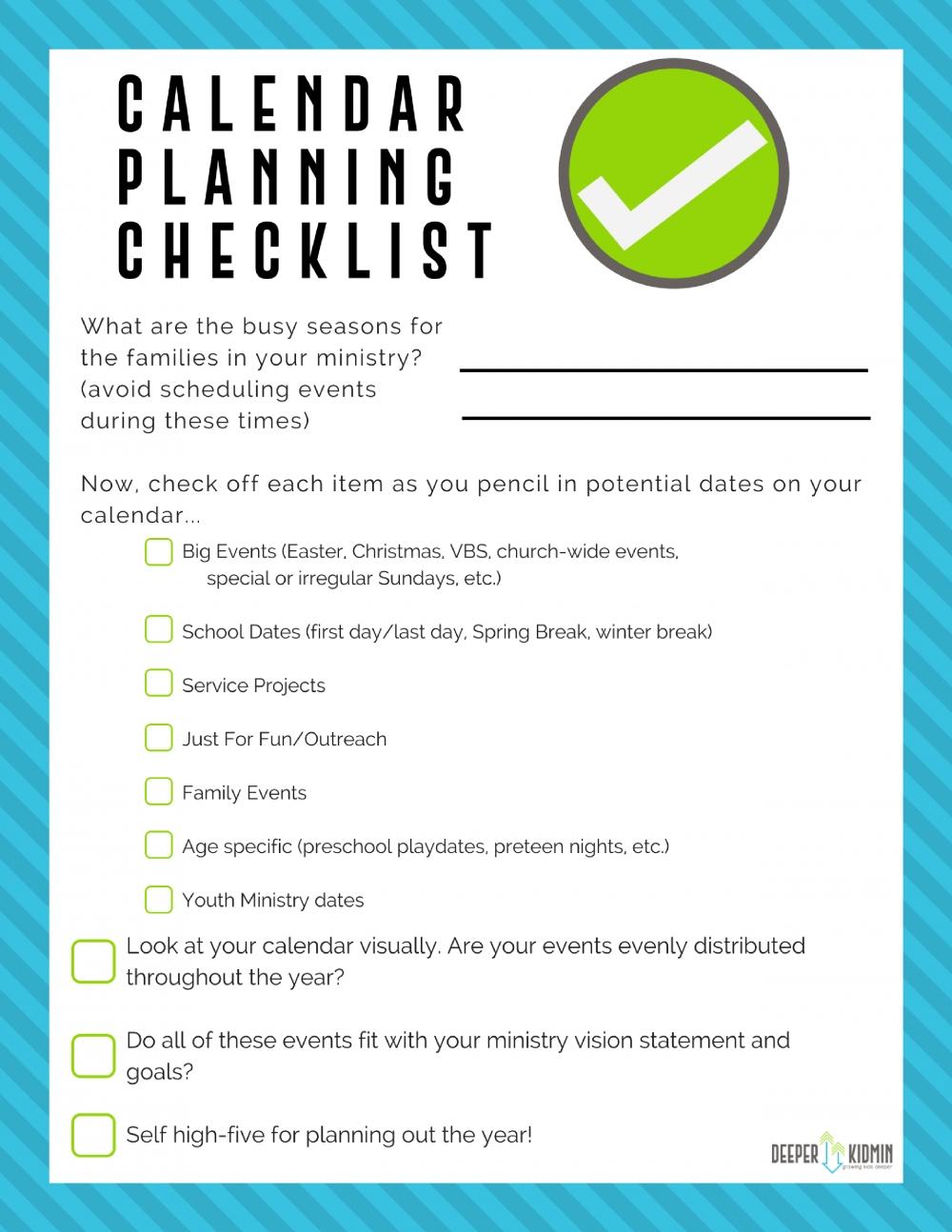 Kidmin Planning Bundle | Ministry Jobs, Children'S Ministry within How To Make A Children Church Year Calendar