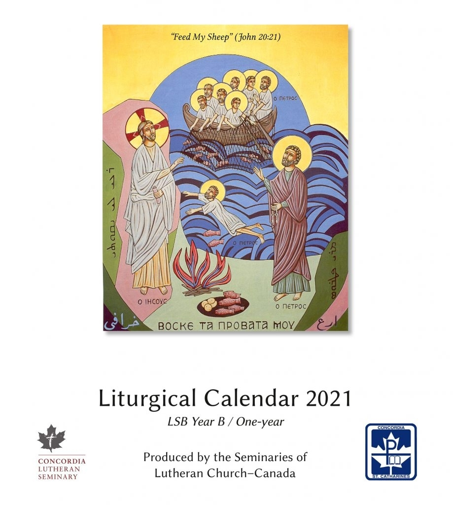 Lcc Seminaries Release Print-At-Home 2021 Liturgical