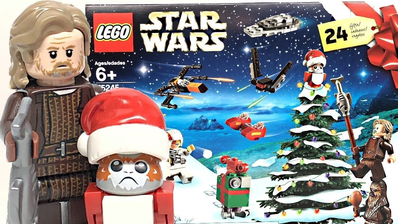 Lego Star Wars 2019 Advent Calendar Review And Unboxing! with Lego Star Wars Callendar 2019