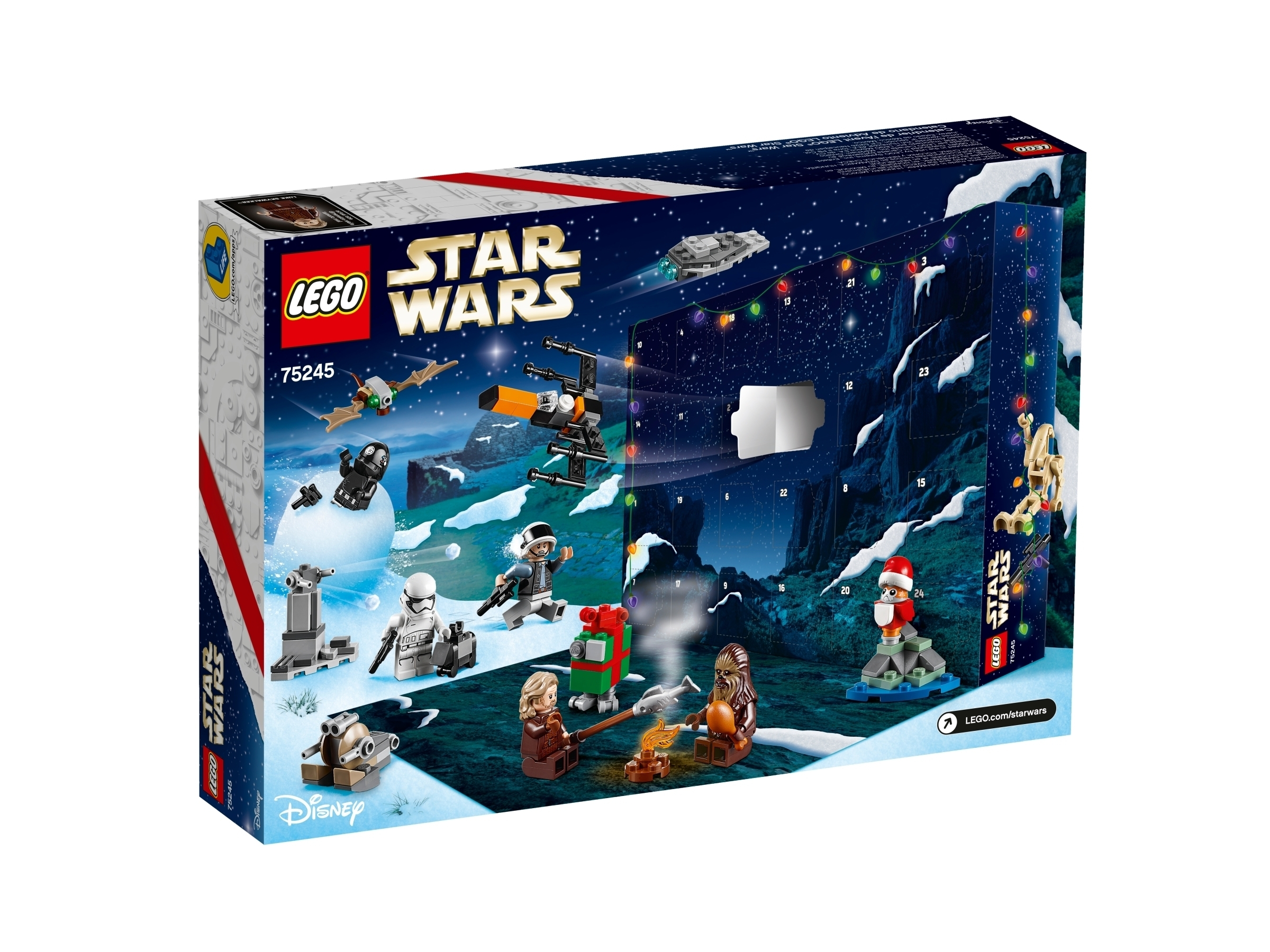 Lego® Star Wars™ Advent Calendar with Lego Star Wars Callendar 2019