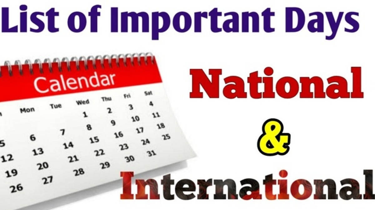 List Of Important Days 2020: National & International Dates throughout List Of Special Days 2020