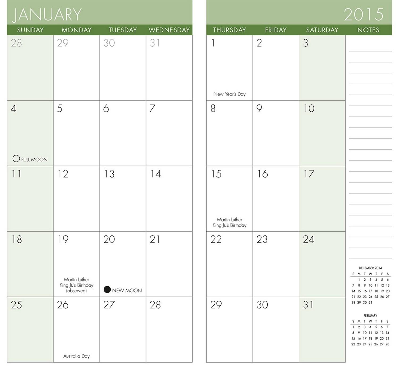 Lovely Pocket Calendar Printable | Free Printable Calendar