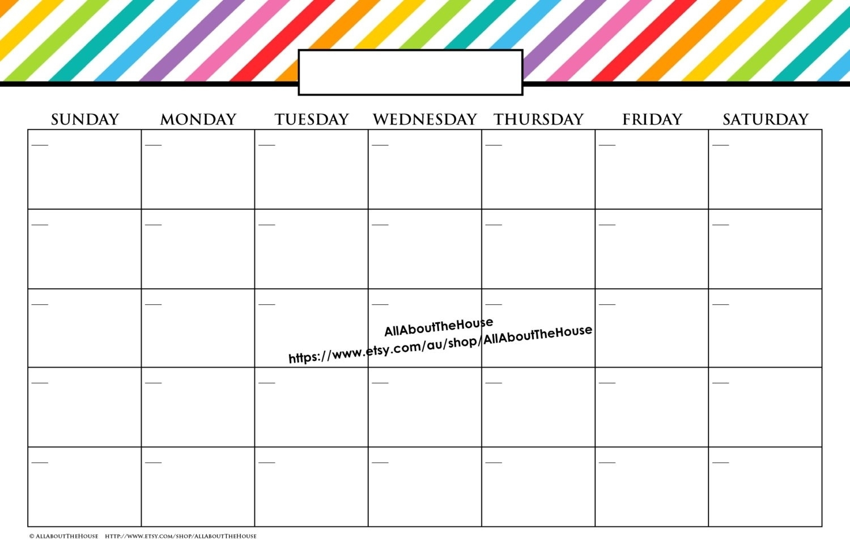 Lovely Printable 11X17 Calendar | Free Printable Calendar pertaining to Free Printable 11X17 Monthly Calendar