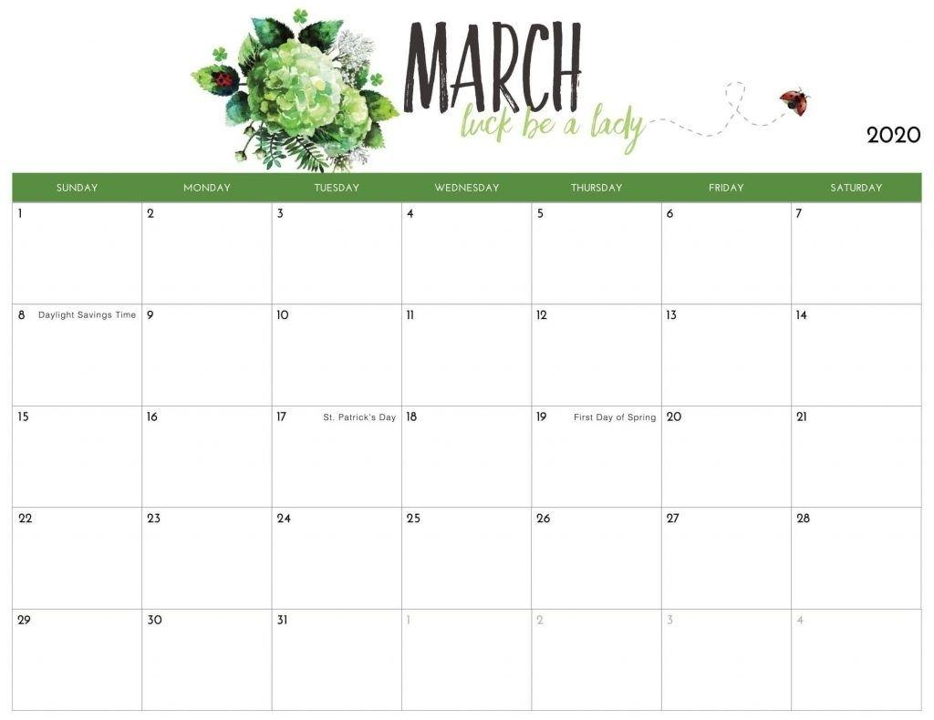 March 2020 Calendar Us In 2020 | Calendar 2019 Printable pertaining to 2020 Calendar Free Printable Imom