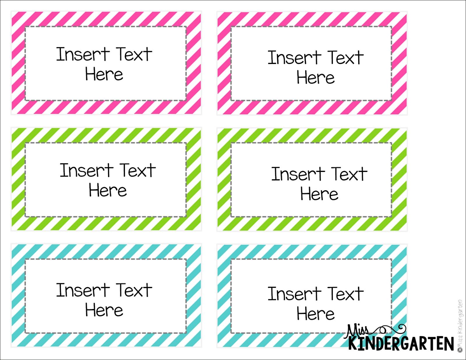 Miss Kindergarten: Editable Word Wall Templates! | Word Wall