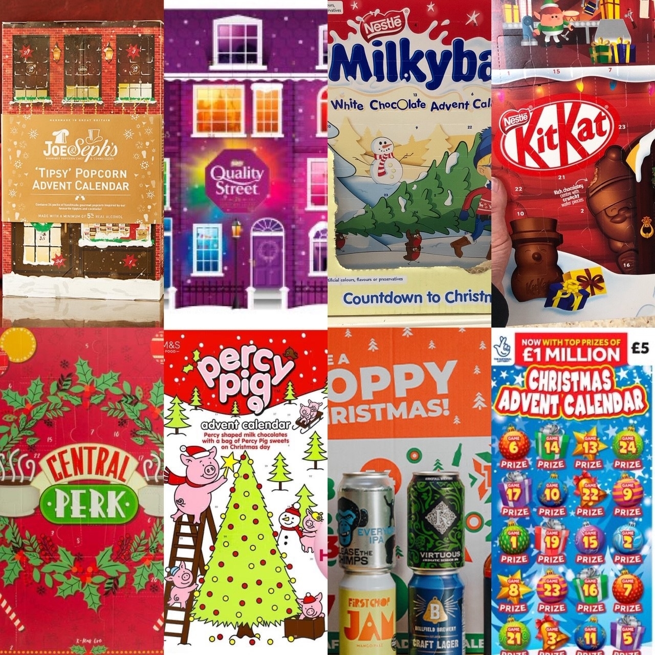 My Gluten Free Advent Calendar Guide (Dairy Free Section Too)