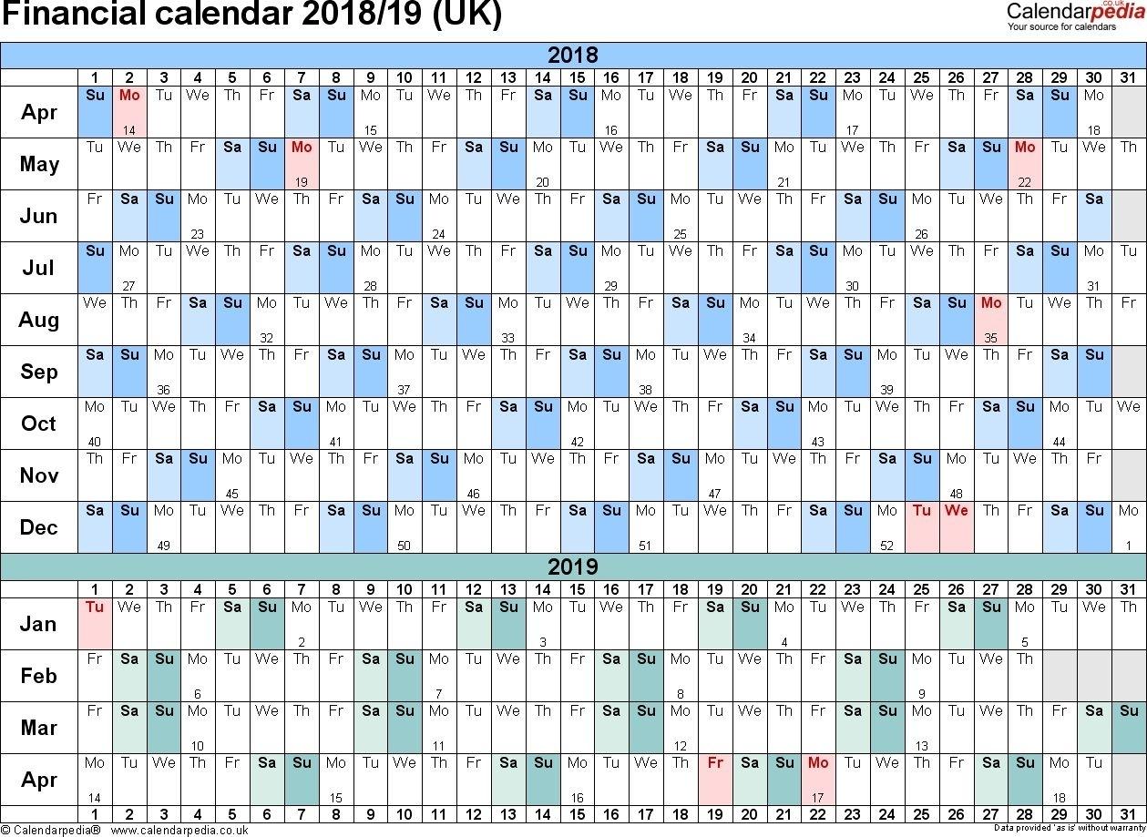 Network Rail Calendar Week Numbers In 2020 | Weekly Calendar