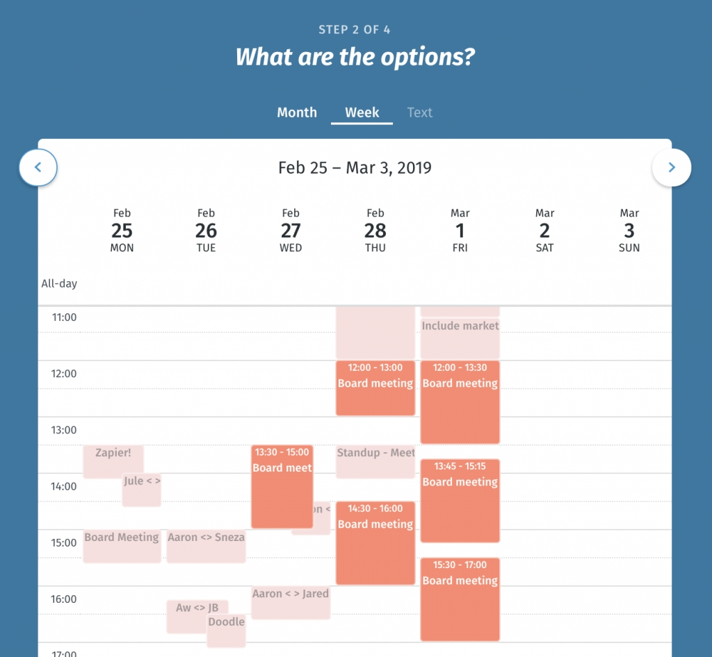 Online Polling Tool - Fast And Easy Scheduling | Doodle