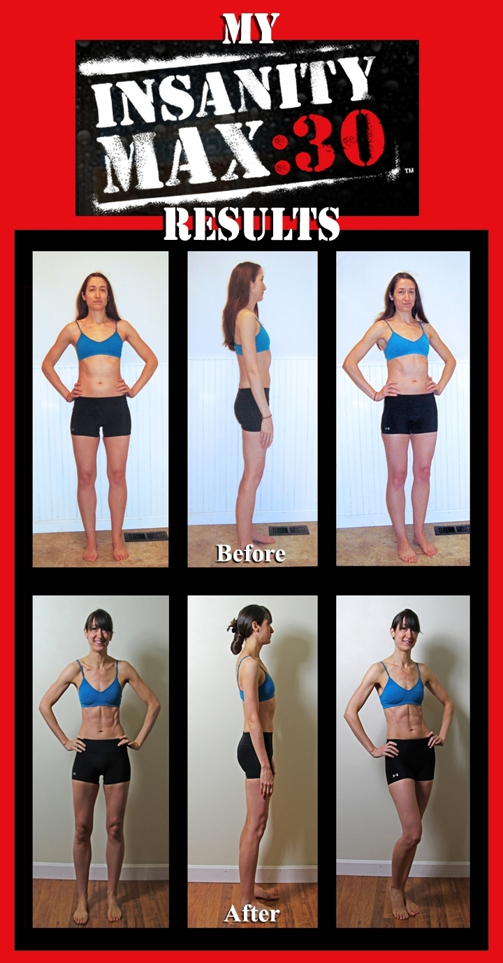 Our Insanity Max:30 After Results