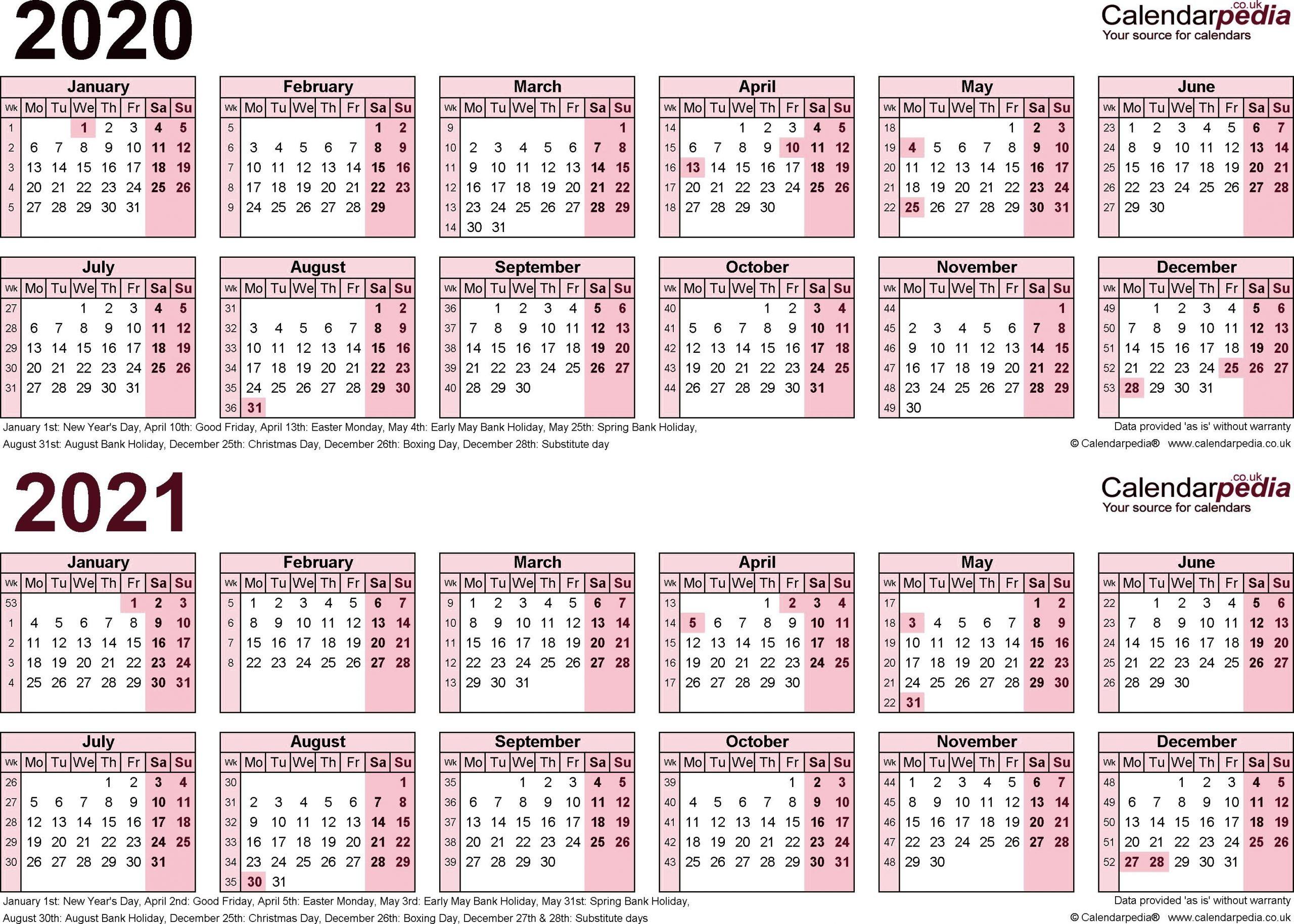 Payroll Calendar Template 2020 ~ Addictionary