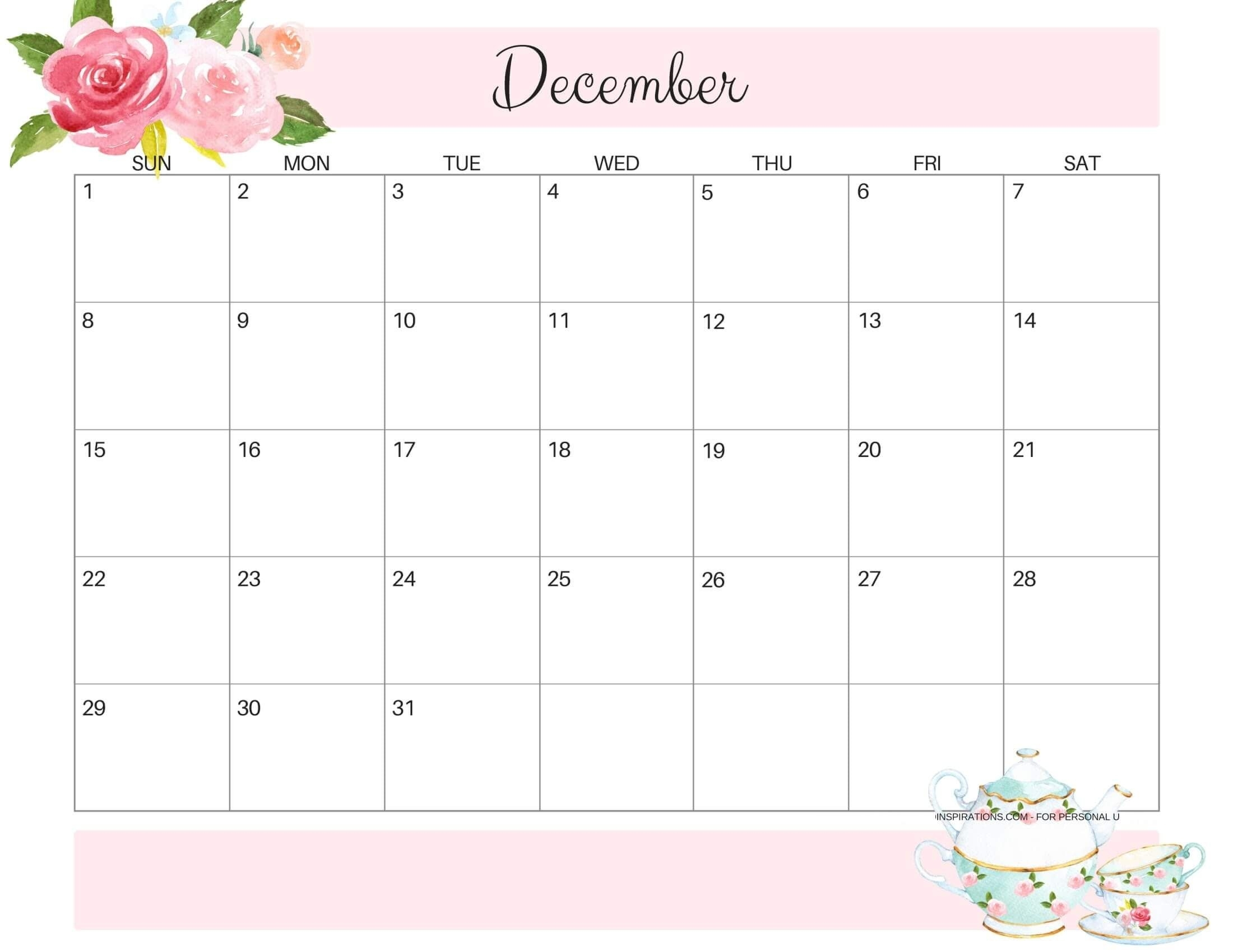 Pin On December Calendars throughout December 2019 Printables And Inspirations
