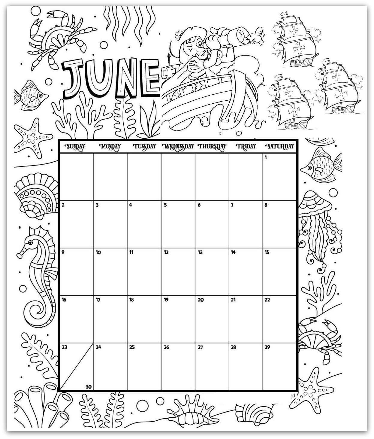 Pin On Kalendar in 2019 2020 Calendar Printable Color In
